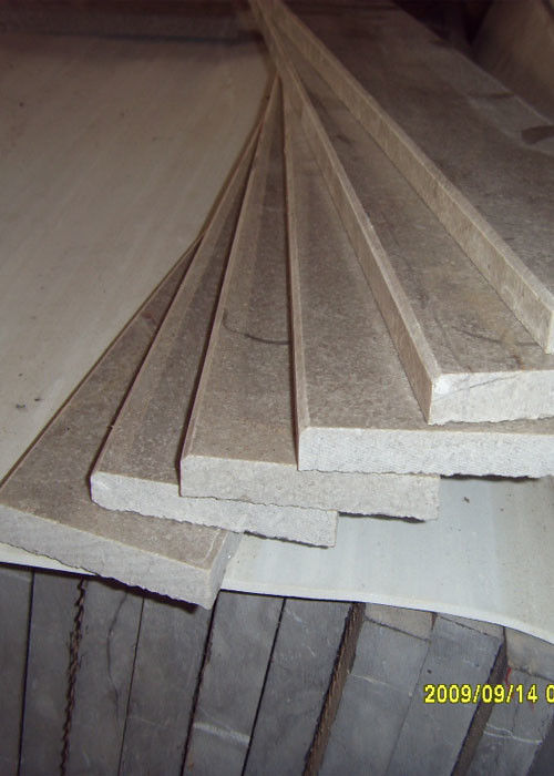 Marble Cinderella grey Stair Treads slab  tile
