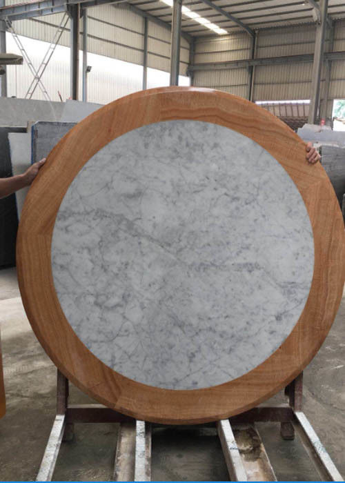 Stone Granite table Countertops Polished white color
